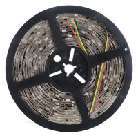 IP65 Waterproof WS2801 5050 Dream Color RGB LED Strip 5 Meters 12V 36led/meter