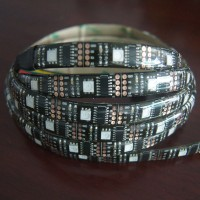 Waterproof WS2801 5050 Dream Color RGB LED Strip 5 Meters 12V 36led/meter w/ Remote Controller