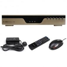 4 CH Channel H.264 Surveillance DVR System CCTV Security 3G Mobile Digital Recorder