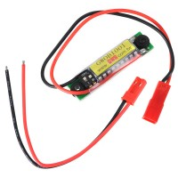 GWS OBI-001 1-4S Lipo Battery Checker Battery Indicator