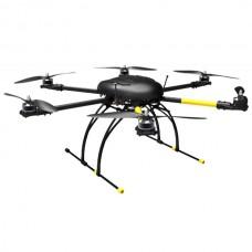HobbyLord ST750 Carbon Fiber Folding Hexcopter Frame 750mm Wheelbase