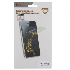 Gold Diamond Style Anti Glare Screen Protector Guard For iPhone 4 4s Front Back 2pcs