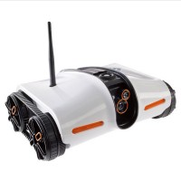 Brookstone Rover IOS App Controlled Wireless Spy Tank