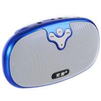 S-118 Best-selling Digital Speaker with USB Socket Support Dual Format TF Card Speaker-Blue