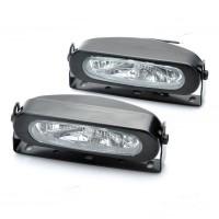 55W 3000K 1000-Lumen 1 x H3 Halogen Bulb White Car Fog Lamps DC 9~16V LA990B
