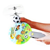Mini Magic Flyer UFO RC Interactive Helicopter Football Design with IR Sensor Remote Control