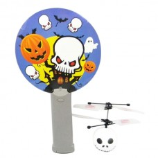 Mini Magic Flyer UFO RC Interactive Helicopter Skull Head Design with IR Sensor Remote Control