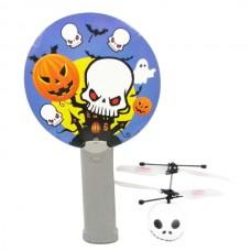 Mini Magic Flyer UFO RC Interactive Helicopter Skull Head Design with IR Sensor Remote Control