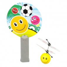 Mini Magic Flyer UFO RC Interactive Helicopter Smile Face Design with IR Sensor Remote Control
