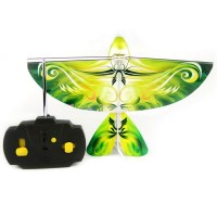 LED RC Flying Bird Toys with Sound Radio Control Flying Parrot Copter Heli RC flying Ornithopter