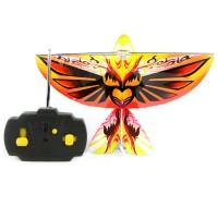 LED RC Flying Bird Toys with Sound Radio Control Flying Phoenix Copter Heli RC flying Ornithopter