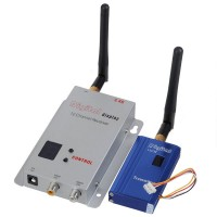 12 Channels 2.4G 1000mW Wireless A/V Transmitter Receiver System(BL-610T)