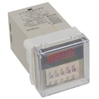 DH48S-1Z AC 220V 0.01S - 99H 99M Digital Timer Time Delay Relay 8 Pin