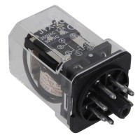 JTX-2C DC 12V Coil General Purpose Relay 8 Pins DPDT 2 NO 2 NC