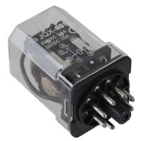 DC 24V Coil General Purpose Relay 8 Pin DPDT JQX-10F-2Z