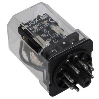 JQX-10F 3Z 12V DC Coil General Purpose Power Relay DPDT 8 Pin
