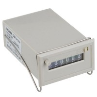 Baoshide Gray 6 Digits AC 110V CSK6-DKW Electromagnetic Counter