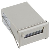 Baoshide Gray 6 Digits AC 220V CSK6-DKW Electromagnetic Counter