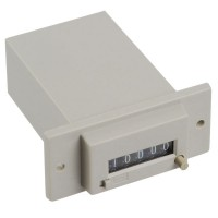 Gray 5 Digits DC 24V CSK5-CKW Electromagnetic Counter