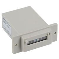 Baoshide Gray 6 Digits DC24V CSK6-DKW Electromagnetic Counter