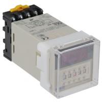 DH48S 2Z 0.01s-99h 99m AC 220V Digital Timer Time Relay 8 Pin DPDT