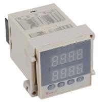 AC 100-240V Dual Row 4 Digit Digital Counter Time Relay 1m-9999m