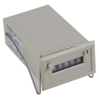 Gray 5 Digits DC 24V CSK5-DKW Electromagnetic Counter