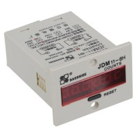 AC 220V 0-999999 Electronic Accumulate Counter JDM11-6H without Voltage Count