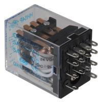 5PCS HH54P DC 24V Coil 5A 240V AC 28V DC Power Relay 14 Pin 4PDT 4 NO 4 NC