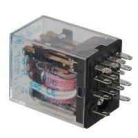 5PCS HH54P AC 220V Coil 5A 240V AC 28V DC Power Relay 14 Pin 4PDT 4 NO 4 NC