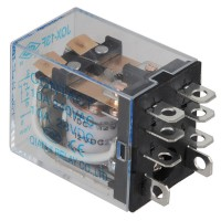 JQX-13F HHC68B 2Z MY2NJ 12V DC Coil 5A General Purpose Power Relay 8 Pin DPDT 5-Pack