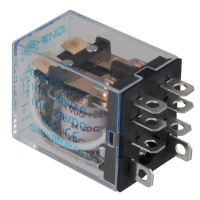 JQX-13F-2Z 24V DC Coil 5A 240V AC / 28VDC Power Relay 8 Pin DPDT 5-Pack