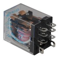 5PCS JQX-13F-2Z AC220V DC Coil 5A 240V AC / 28VDC Power Relay 8 Pin DPDT