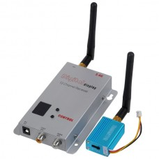 FPV T2 12CH 2.4G 1000MW Wireless A/V Home Transmitter Receiver System
