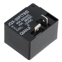 5PCS DC 12V Coil 40A General Purpose Power Relay 2 Pin DPDT JQX-30F(93T)