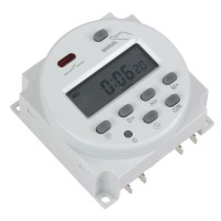 CN101A Digital LCD Programmable Timer DC 12V 16A Time Relay Switch