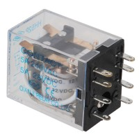 Power Electromagnetic Relay MY2NJ HH52P DC 12V Coil DPDT 5A HHC68B-2Z 8 PIN 5-Pack