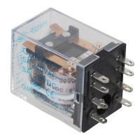 Power Electromagnetic Relay MY2NJ HH52P DC 24V Coil DPDT 5A HHC68B-2Z 8 PIN 5-Pack