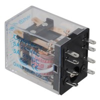 Power Electromagnetic Relay MY2NJ HH52P AC 220V Coil DPDT 5A HHC68B-2Z 8 PIN 5-Pack