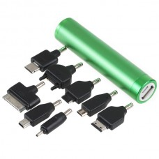 Mobile Power Bank for Iphone 4/4S Emergency Charger 2600mAh-Green
