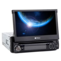 "MILION D1309 1 Din 7"" USB Car DVD Stereo Player Touch Screen USB FM Radio"