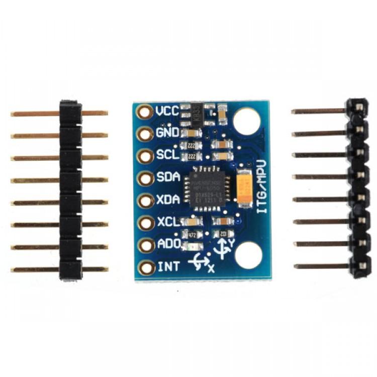 MPU-6050 MPU6050 6DOF 3 Axis Gyroscope+Accelerometer Module for Arduino DIY *1pc