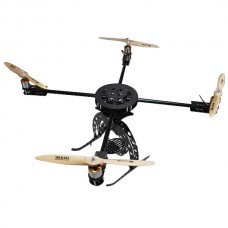 Typhoon 4 Carbon Fiber 900mm Quadcopter Kit with BY3-3 PTZ for FPV