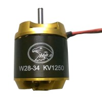 Hengli W2834 1250KV High Efficiency Outrunner Brushless Motor