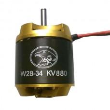 Hengli W2834 880KV High Efficiency Outrunner Brushless Motor