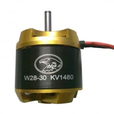 W2830 High Efficiency KV1480 Outrunner Brushless Motor 2-3S for Aircraft