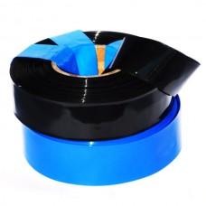 72mm Black Heat Shrink Tube Film Heat Shrinkable Membrane Skin RC Battery Pack Make 30M