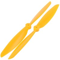 "13x4.5"" 1345 1345R Counter Rotating Propeller CW/CCW Blade For Quadcopter MultiCoptor-Yellow"