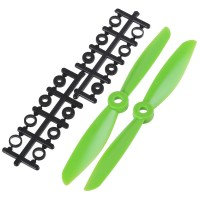 "6x4.5"" 6045 6045R Counter Rotating Propeller CW/CCW Blade For Quadcopter MultiCoptor-Green"