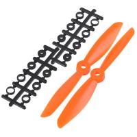 "6x4.5"" 6045 6045R Counter Rotating Propeller CW/CCW Blade For Quadcopter MultiCoptor-Orange"